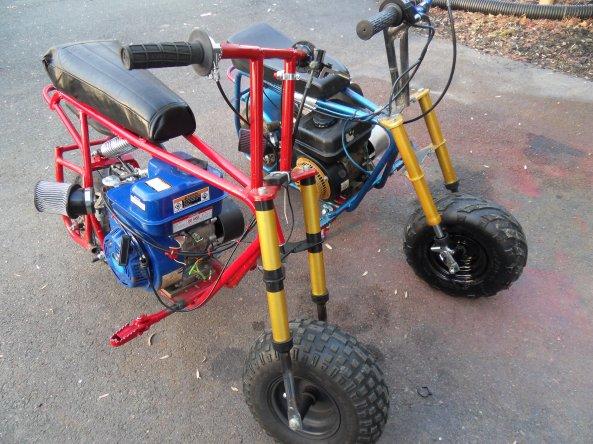 Minibikes D B R C Racing