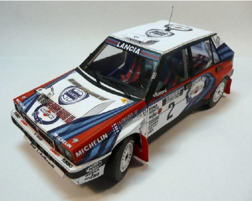 Future 1 5 papercraft bodies d b r c racing for Papercraft lancia